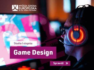 Game Design - nowy kierunek studiów w Wyższej Szkole Europejskiej! - Jak robić gry, Jak zostać twórcą gier, Studia o grach, Kraków, Nowe kierunki studiów