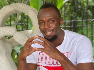 Usain Bolt chwali się zdjęciami i imieniem córki. Mała Olimpia podbija serca fanów - Usain Bolt dziecko, córka, imię, Olympia Lightning Bolt, Zdjęcia, Twitter Instagram