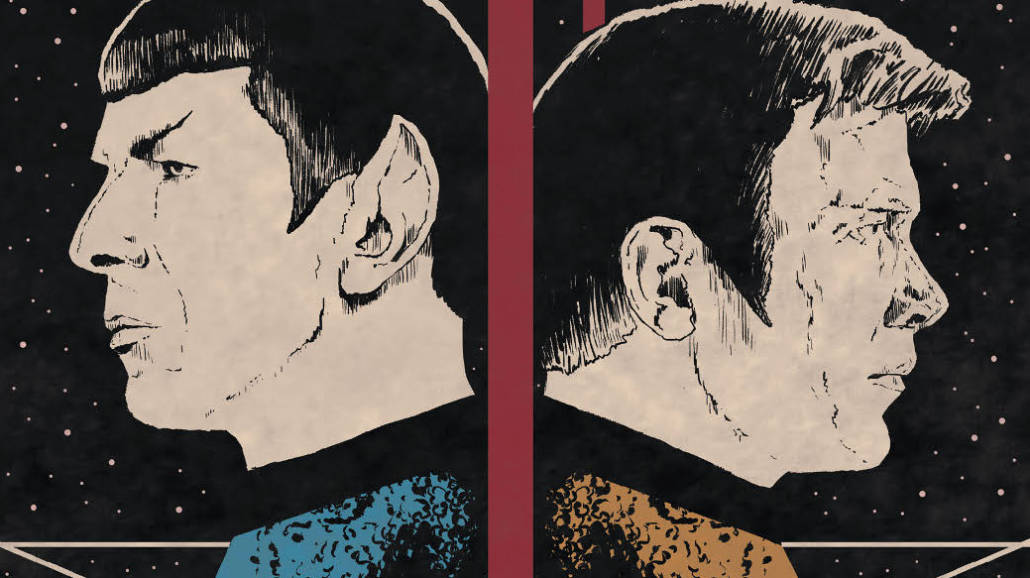 Star Trek Rok piąty komiks