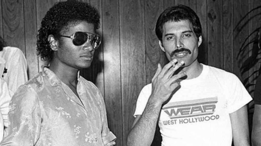 Michael Jackson i Freddie Mercury razem!