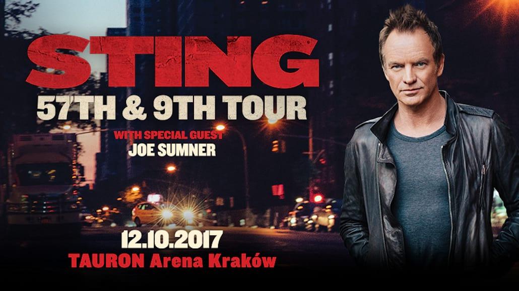 Sting w Polsce