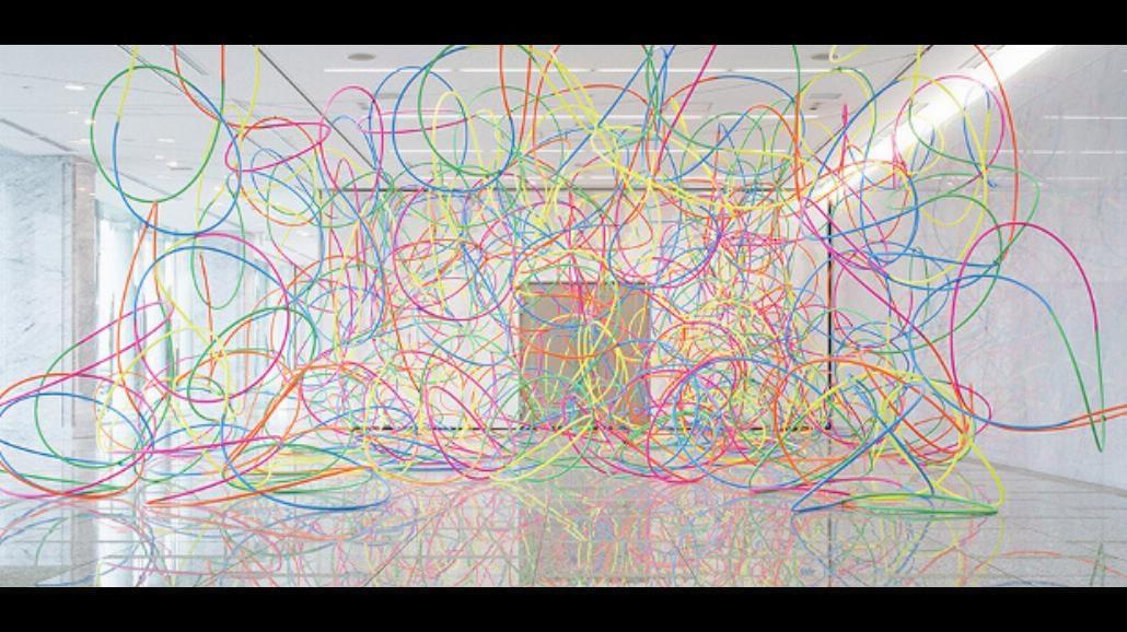 Ewolucja linii na festiwalu rysunku THINK TANK lab Triennale