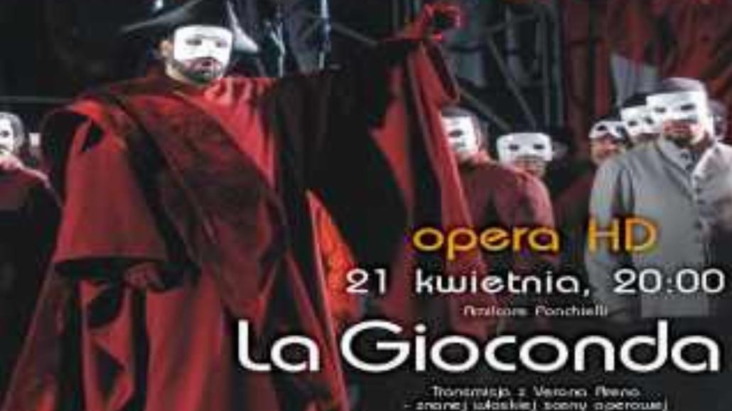 Premiera: Opera La Gioconda Amilcare Ponchiellego