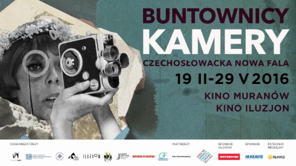 Buntownicy kamery - czechosłowacka Nowa Fala na festiwalu w Warszawie