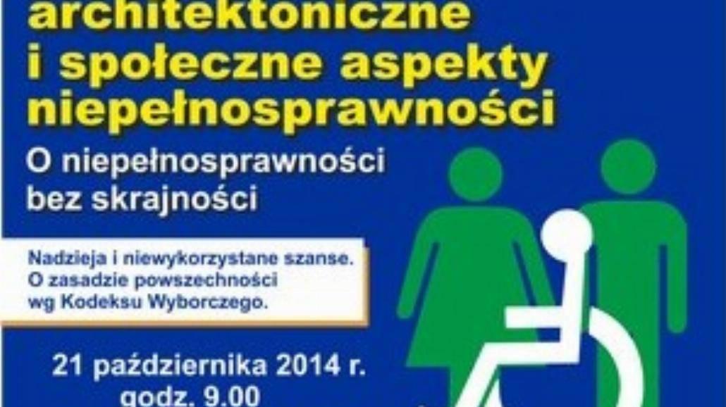 O niepełnosprawności bez skrajności