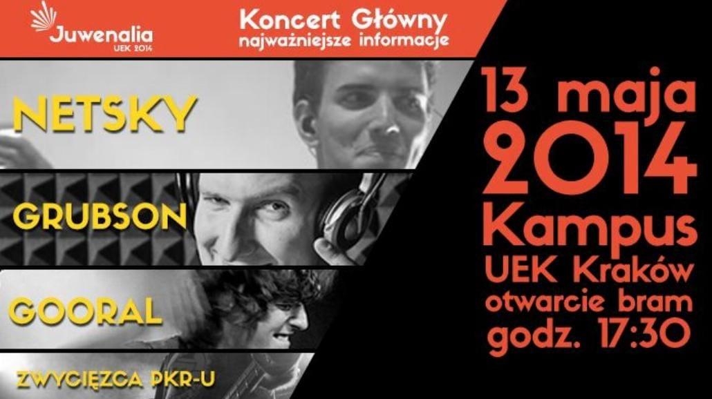 Kraków: Juwenalia UEK 2014 [BILETY]