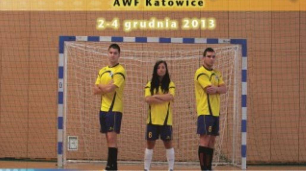 Turniej Piłki Nożnej Halowej w AWF Katowice