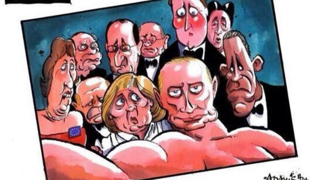 Putin gwiazdą internetów [MEMY]