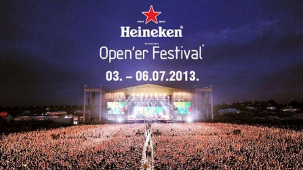 Open'er 2013: Stream w piątek