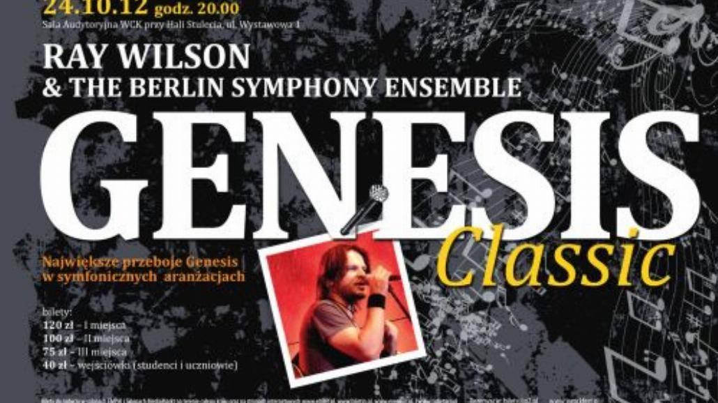 Przeboje Genesis w symfonicznych aranżacjach