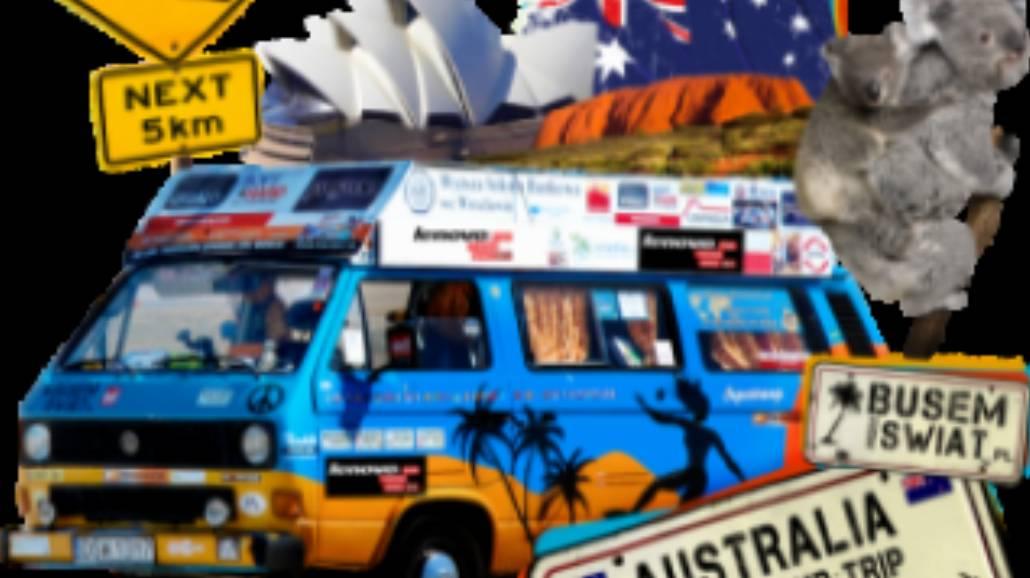 """Ekipa """"Busem przez świat"""" zdaje relację z Australii"""