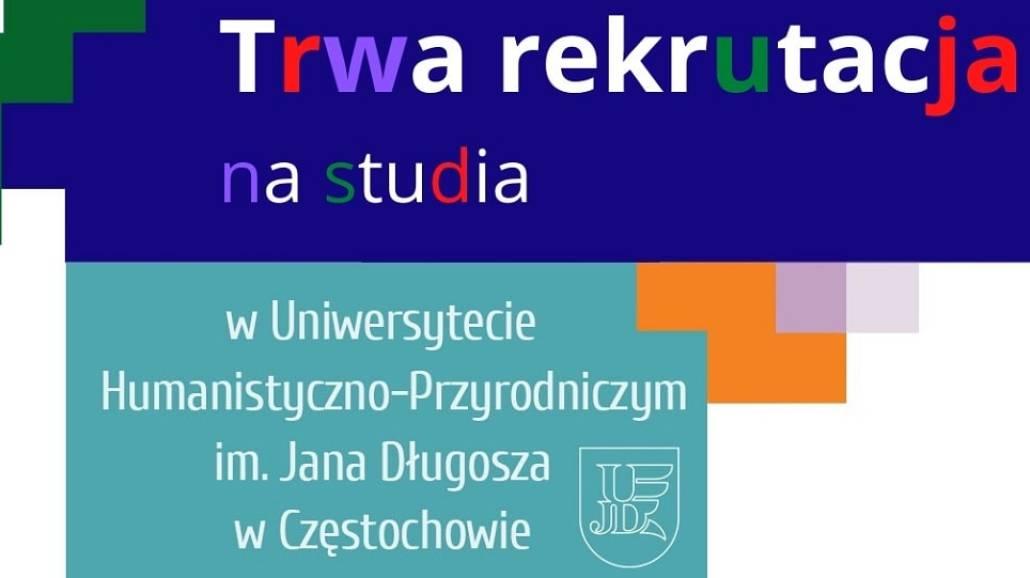 plakat - rekrutacji na uczelnie