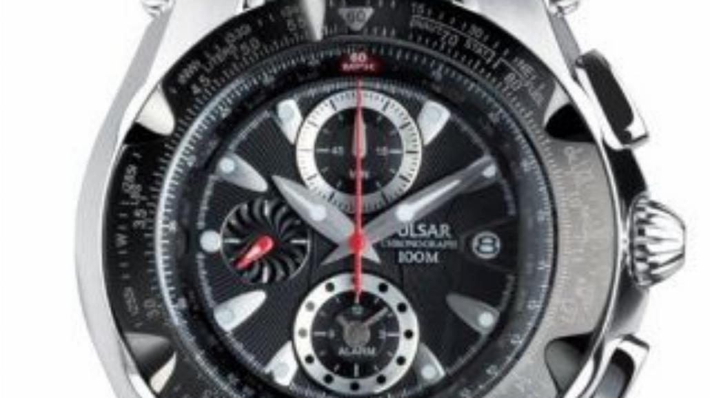 Futuryzm zegarków Pulsar Nevada 2008