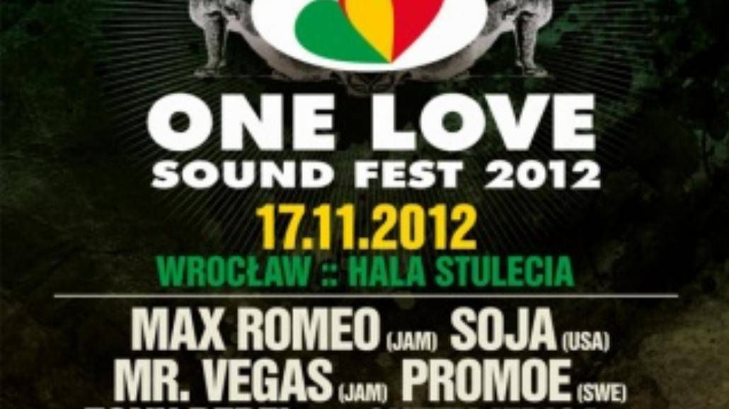 Ostatni headliner One Love Sound Fest 2012