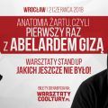 Warsztaty ze stand-upu z Abelardem Gizą [WIDEO] - spotkanie, bilety, wystąpienie, doświadczenie