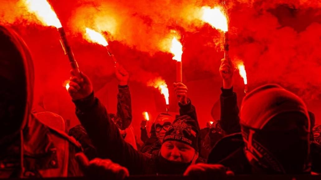 Marsz Niepodległości w Warszawie 2020
