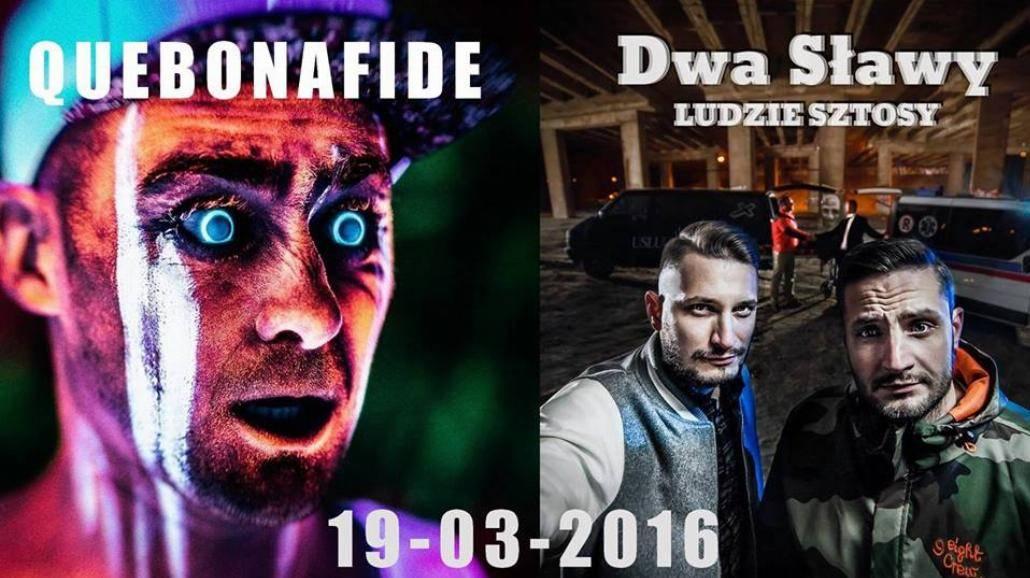 Quebonafide i Dwa Sławy zagrają w CK Wiatrak