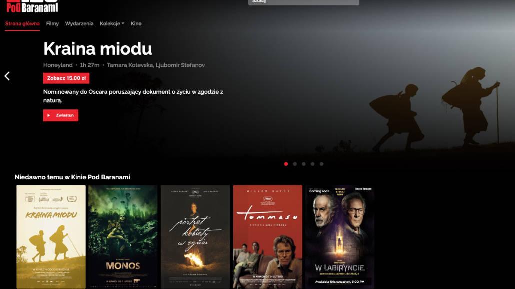 E-Kino Pod Baranami online