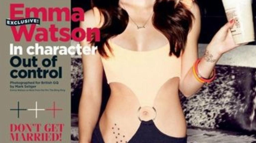 Seksowna Emma Watson promuje nowy film