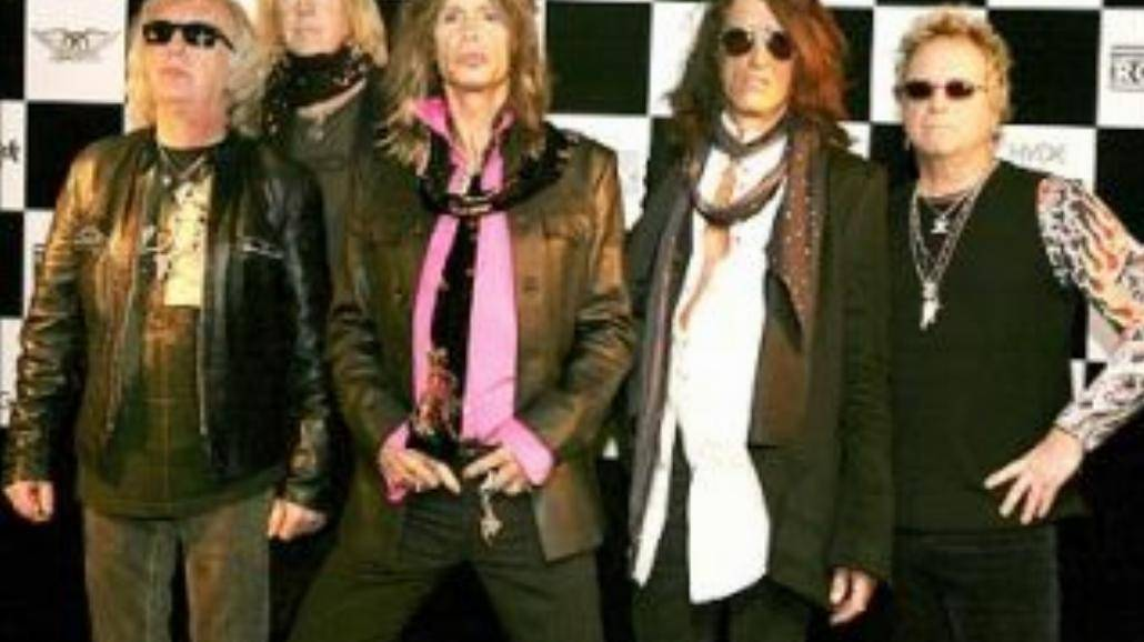 Aerosmith wchodzi do studia