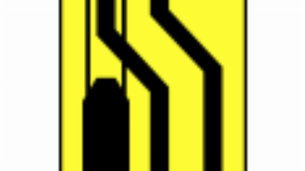 """T-8 """"tabliczka wskazująca miejsce, w którym ruch"""
