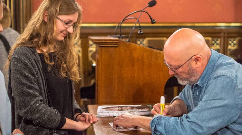Wojciech Smarzowski spotkał się ze studentami Uniwersytetu Jagiellońskiego [FOTO]