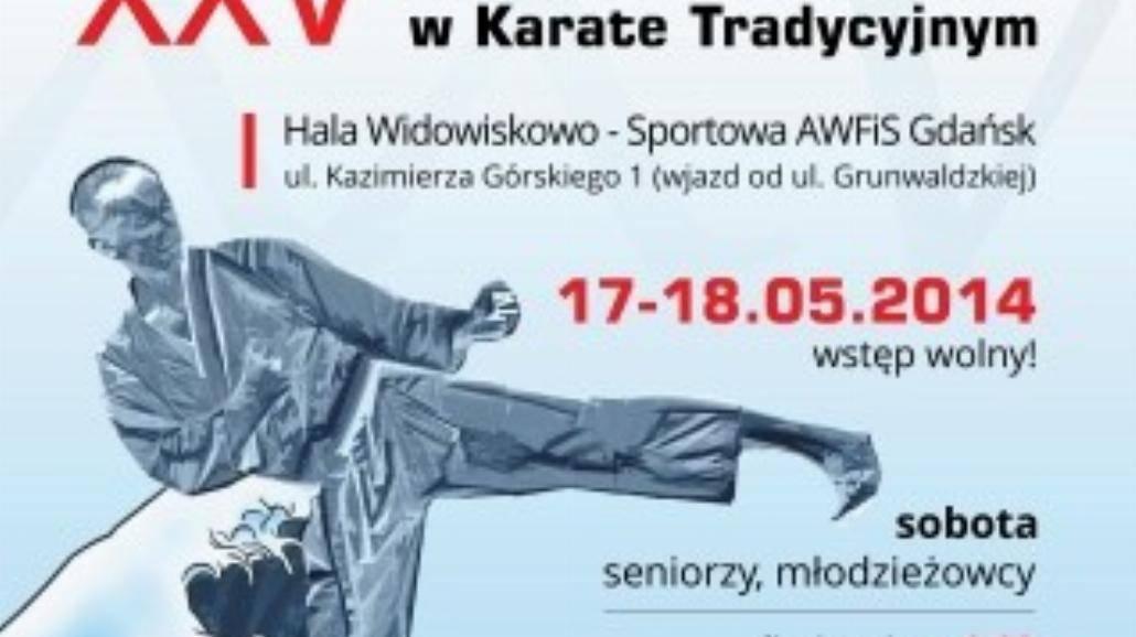 XXV Mistrzostwa Polski w Karate Tradycyjnym