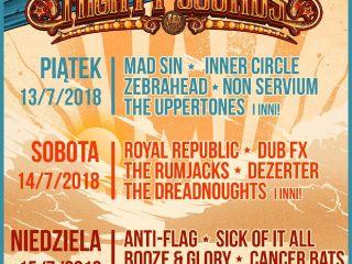 Mighty Sounds 2018: znamy harmonogram - festiwal, letnie festiwale 2018, Tábor, Czechy