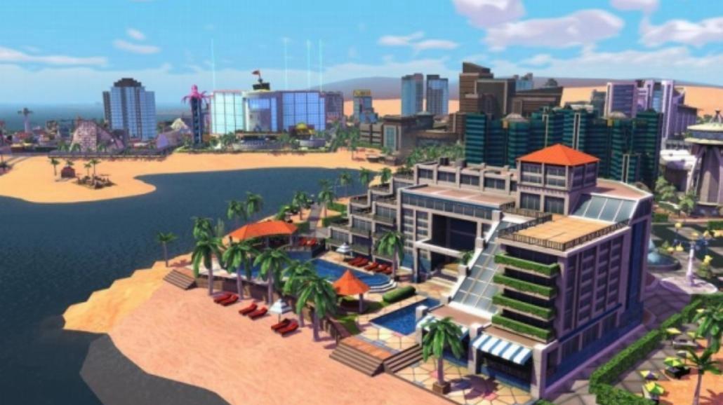 SimCity Społeczności: Na wakacjach w EA Store