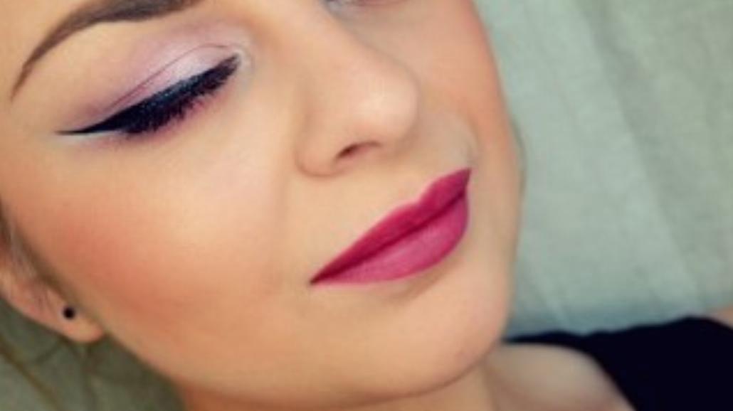 Zmysłowe nuty wina w walentynkowym makijażu