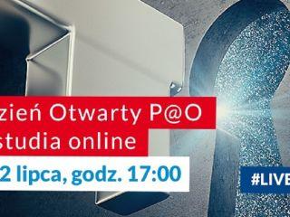Polska Akademia Otwarta - Dzień Otwarty P@O [Lipiec 2020] - Polska Akademia Otwarta, Społeczna Akademia Nauk, Łódź, P@O, Studia zdalne, online, 2020/2021
