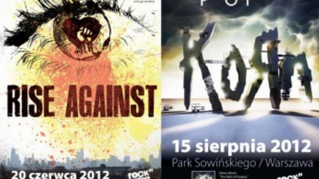 Bilety na KoRn i Rise Against już w sprzedaży!