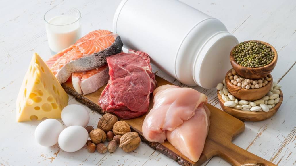 Białka w jedzeniu