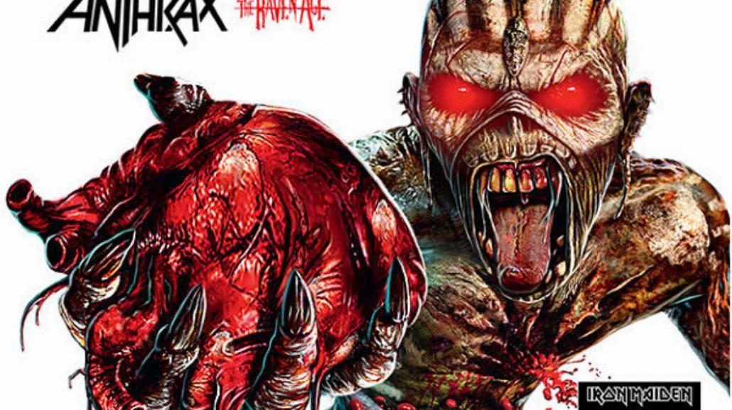 Anthrax supportem przed Iron Maiden!