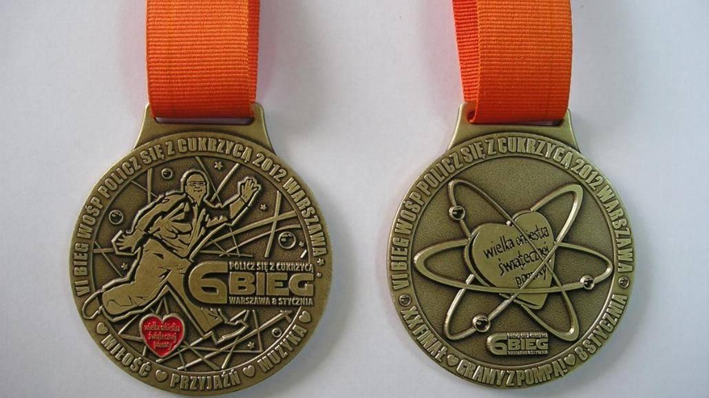 """Medal biegu """"Policz się z cukrzycą"""""""