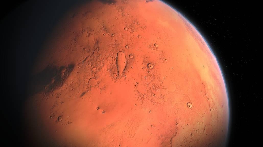 Na Marsie odkryto jezioro, w ktÃłrym znajduje siÄ™ ciecz.