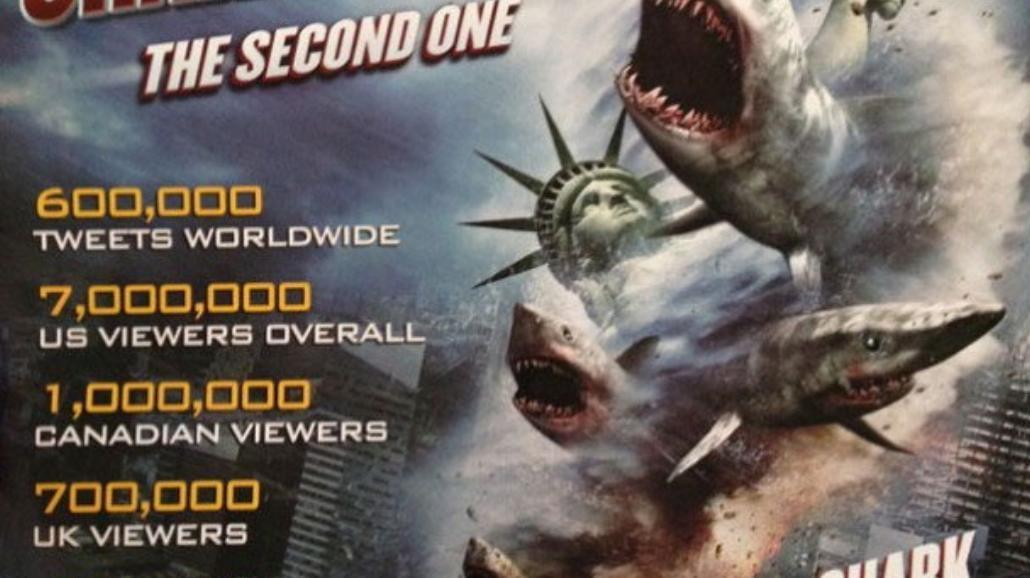 """Sharknado 2"" - zobacz plakat"