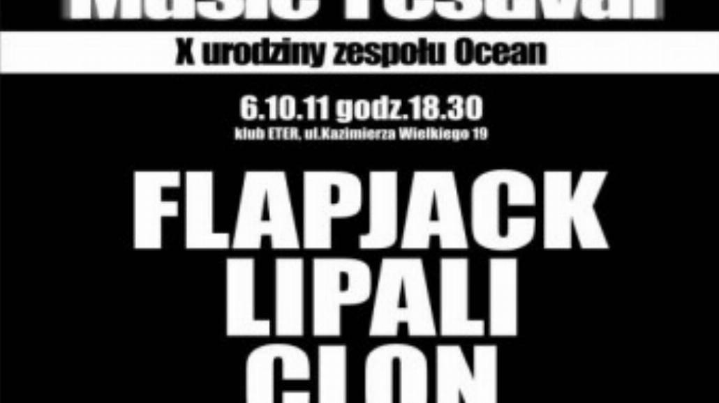 Ocean Music Festival -gościnnie Flapjack i Lipali