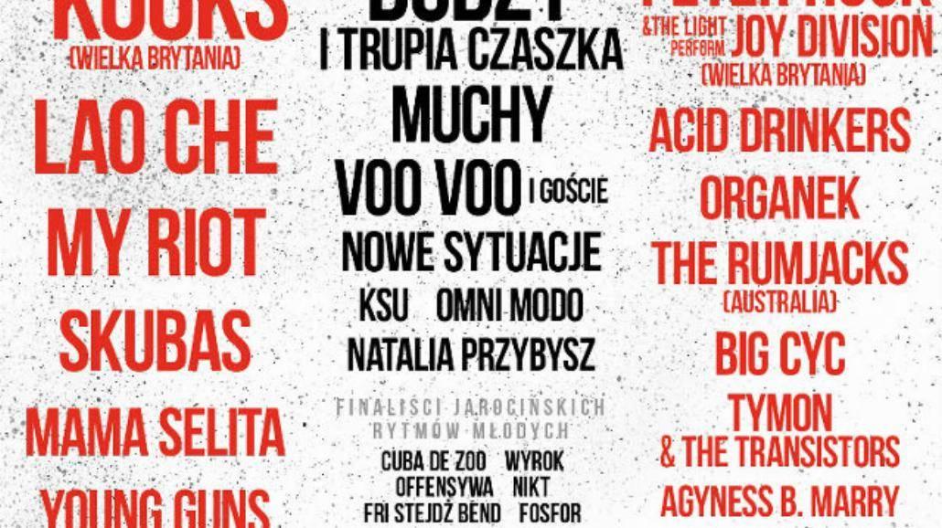 Zobacz pełny line-up Jarocin Festival 2015! [WIDEO, BILETY]