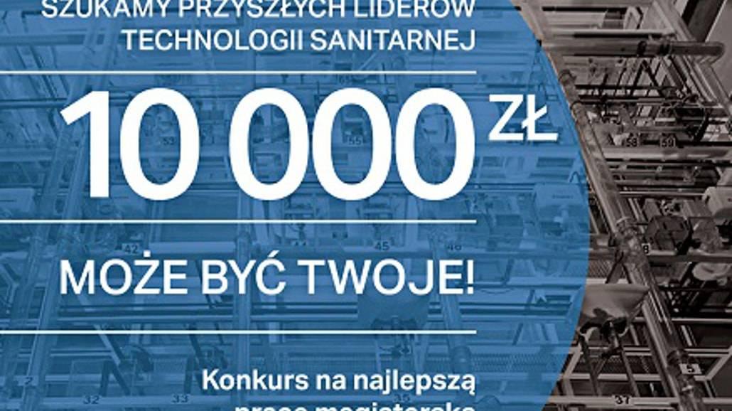 Rusza konkurs na najlepszą pracę z zakresu inżynierii sanitarnej