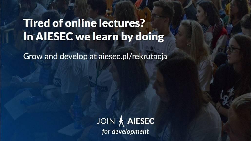 AIESEC Gdańsk - rekrutacja 2021
