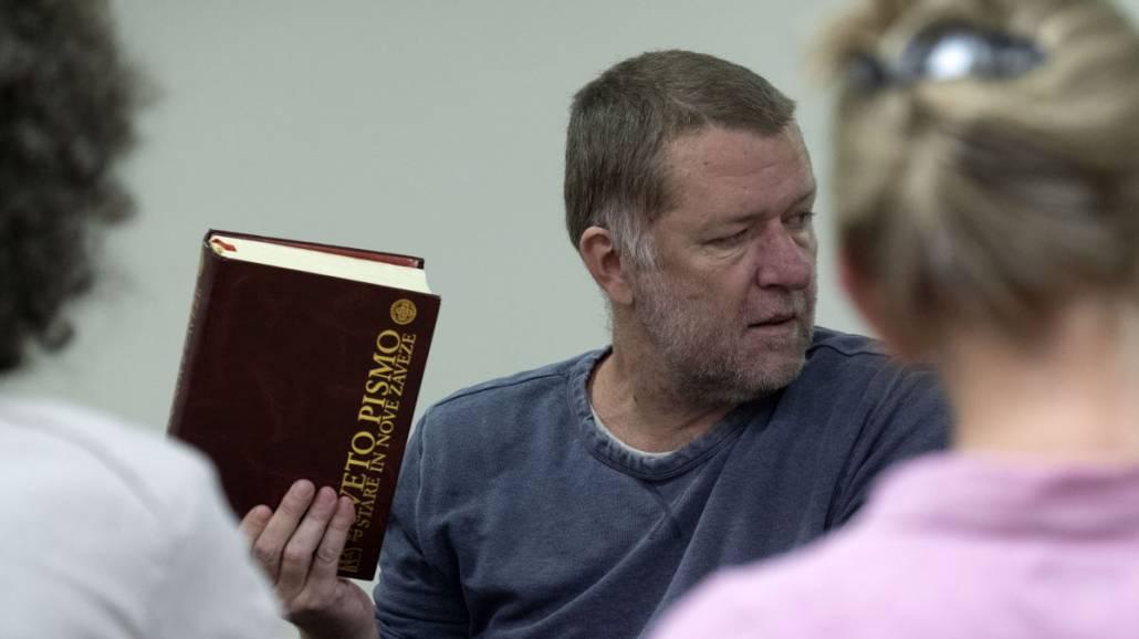 Biblia - prÃłba w Teatrze Horzycy
