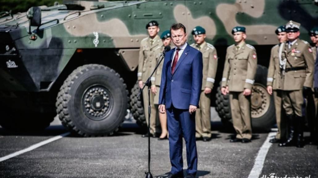 Na promocji oficerskiej w AWL pojawił się Mariusz Błaszczak, minister obrony narodowej.