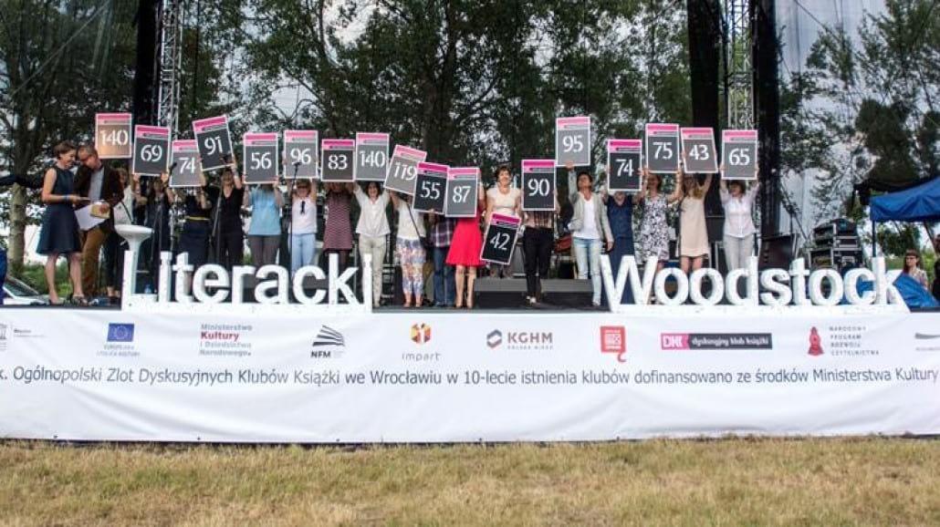 Literacki Woodstock - wielkie święto słowa pisanego [RELACJA]