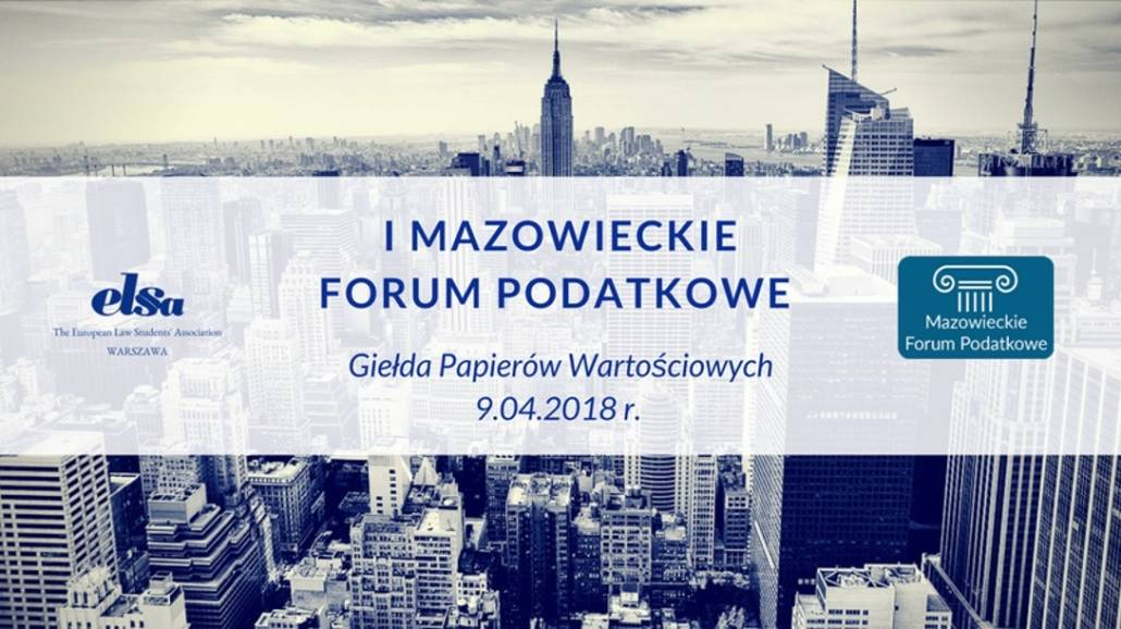 Panele wykładowe odbędą się 9 kwietnia 2018 roku.