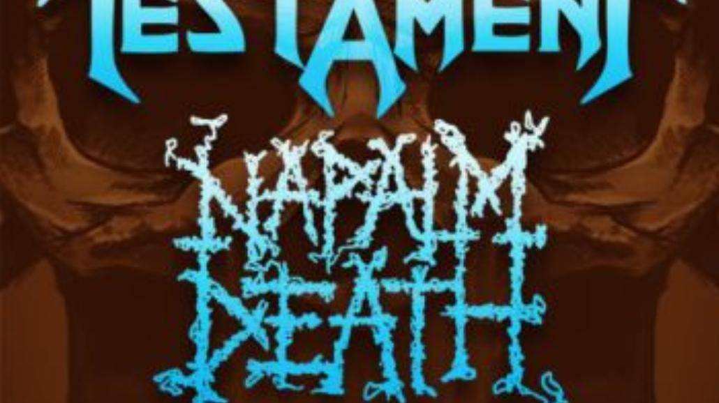 Testament i Napalm Death jutro w Warszawie!