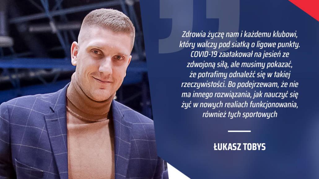 Łukasz Tobys, prezes eWinner Gwardia Wrocław