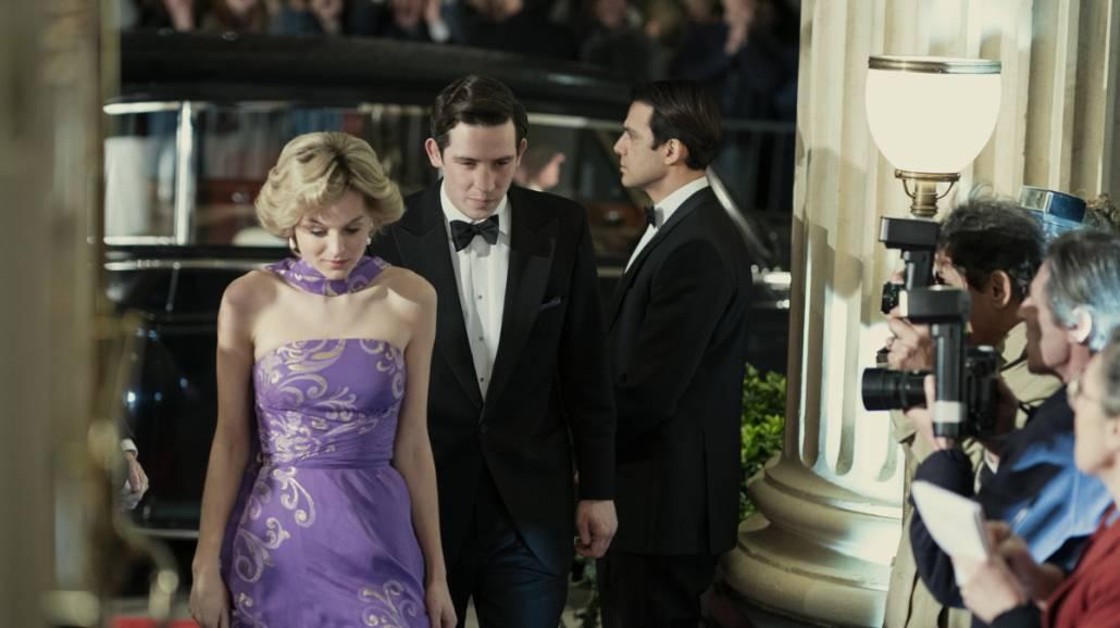 The Crown - zdjęcia z 4. sezonu