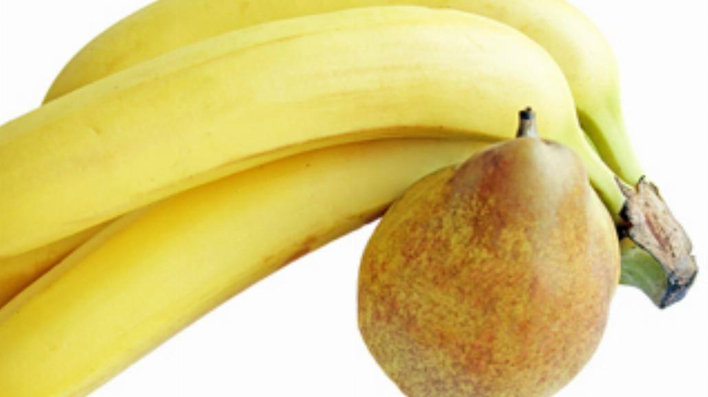 Płonące banany
