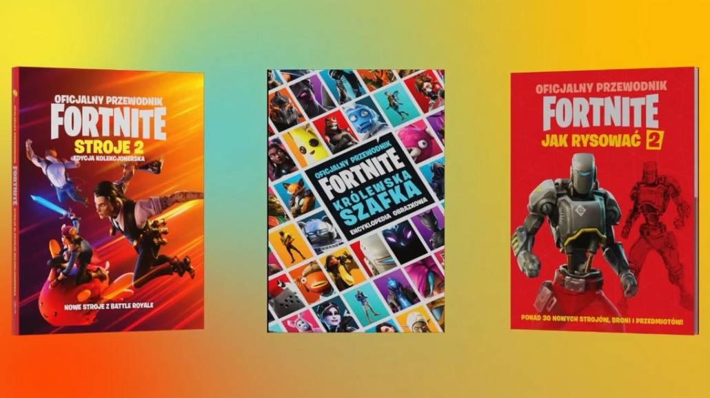 kolekcja oficjalnych ksiąÅźek Fortnite
